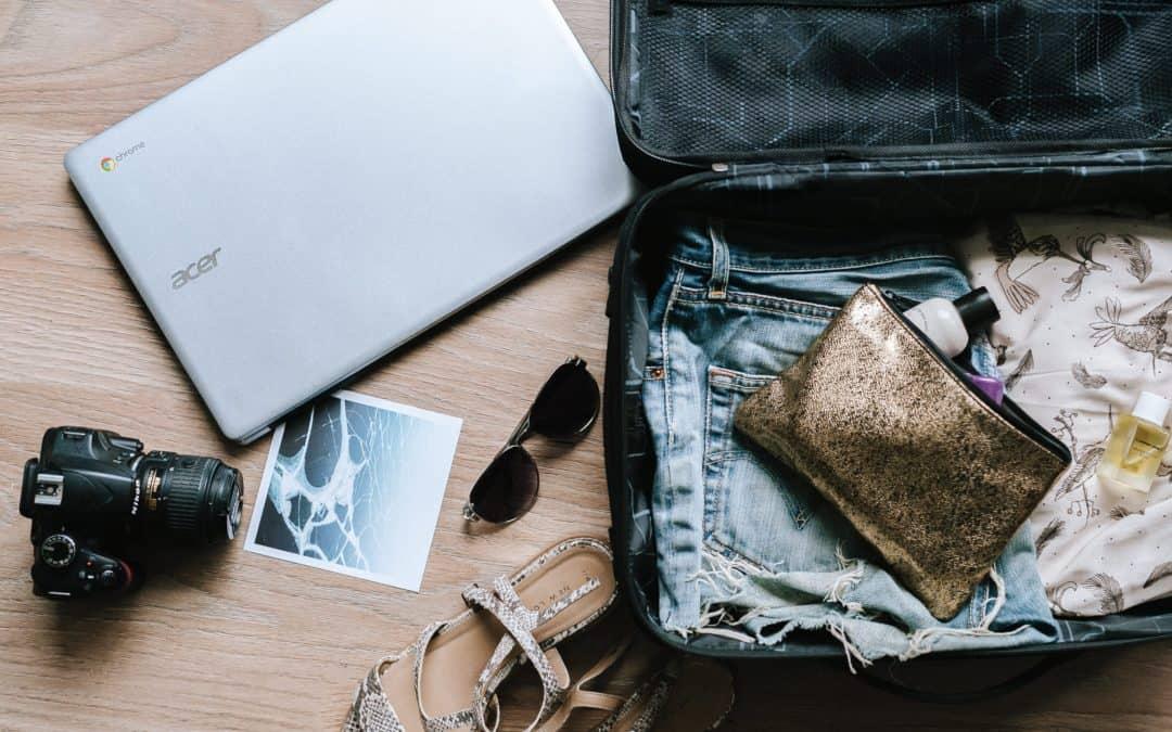 Aprenda a fazer uma mala minimalista 💼