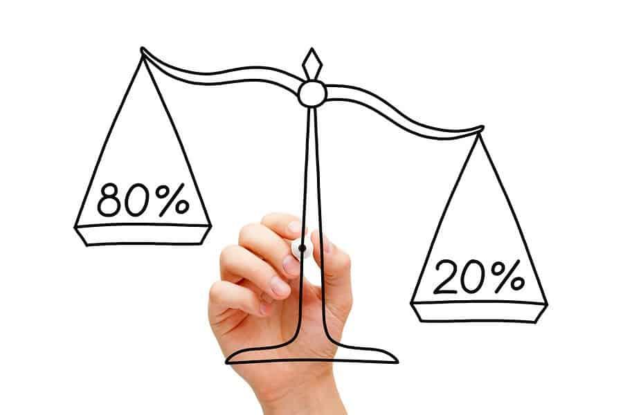 Lei de Pareto 80/20 | 3 Passos para salvar o seu estilo de vida