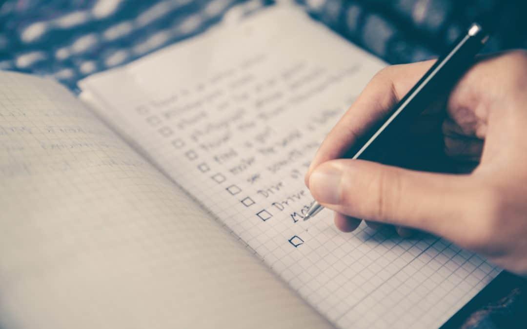 Use checklists e dobre a sua produtividade ✔️